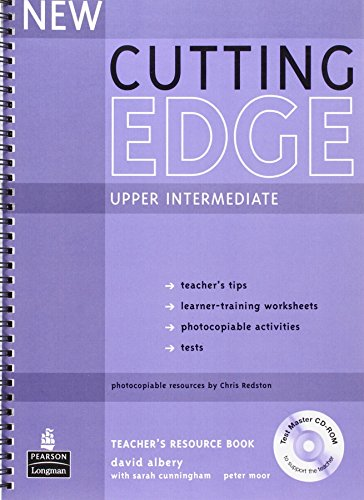 9781405843515: New Cutting Edge Upper Intermediate Teachers Book and Test Master CD-Rom Pack