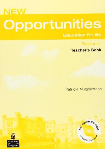 9781405843546: Opportunities Beginner Teachers Book Pack Opportunities