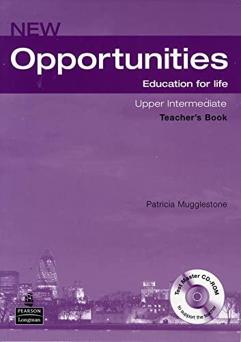 9781405843553: Opportunities NE Upper-Intermediate Teachers Book Pack (Opportunities)