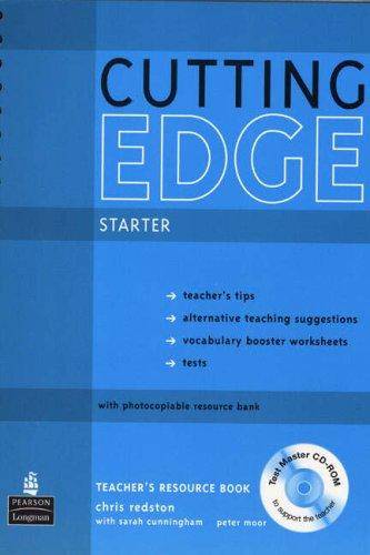 9781405843652: Cutting Edge Starter Teacher's Resource Book