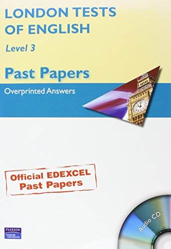 9781405844482: London Tests of English Level 3: Level 3: Past Papers