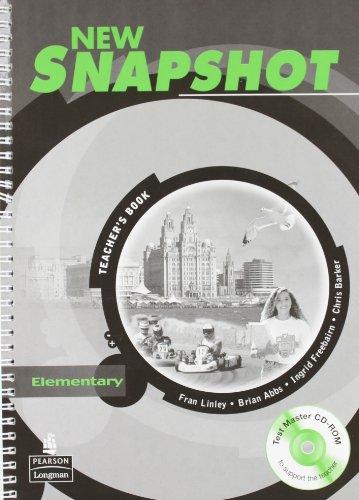 9781405844826: Snapshot Elementary Teachers Book NE Pack: Elementary Teacher's Book Pack
