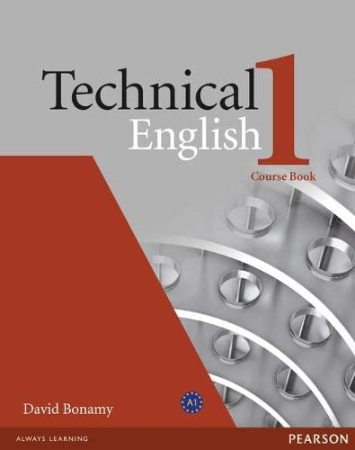 9781405845458: Technical english. Course book. Per le Scuole superiori: Technical English Level 1 Coursebook