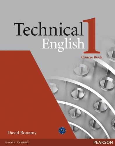 9781405845458: Technical English Level 1 Course Book.