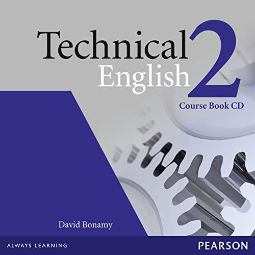 9781405845564: Technical English 2 Course Book CD