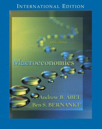 Macroeconomics: AND Macroeconimcs Update Booklet: Andrew Abel