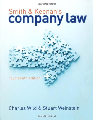 9781405846134: Smith and Keenan's Company Law