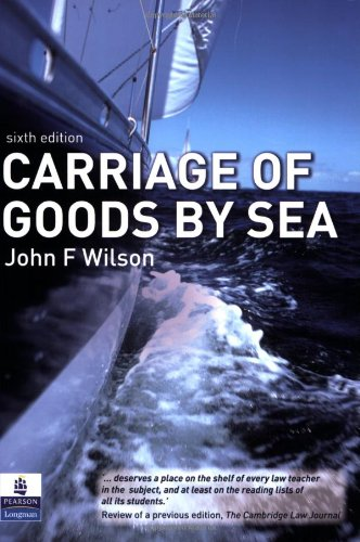 9781405846691: Carriage of Goods by Sea