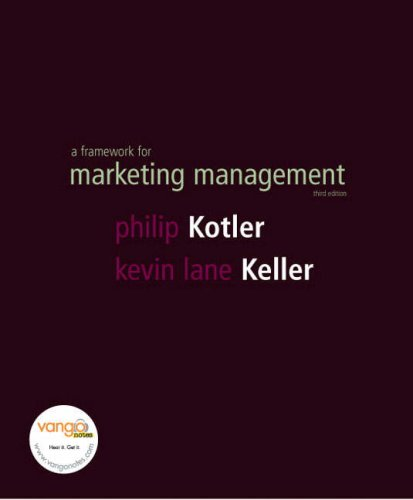 9781405846745: Framework for Marketing Management: AND Marketing Plan Handbook and Marketing Plan Pro