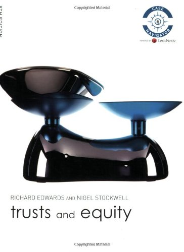 9781405846844: Trusts and Equity (Foundation Studies in Law Series)