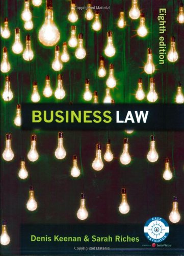 9781405846974: Business Law