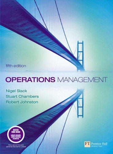 9781405847018: Operations Management