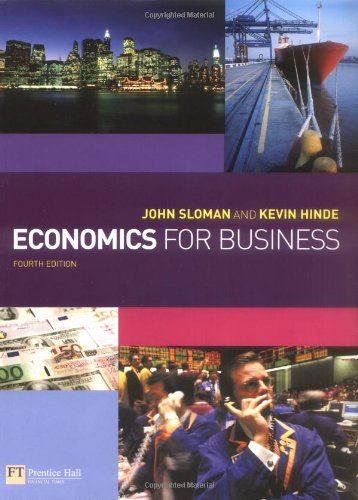 9781405847025: Economics for Business with Companion Website with GradeTracker Student Access Card