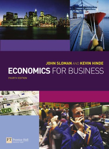 9781405847032: Economics for Business