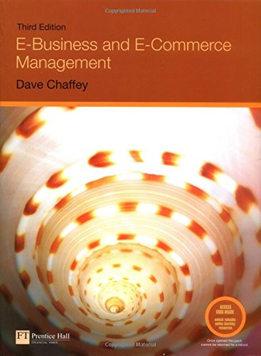 9781405847063: E-Business and E-Commerce Management: Strategy, Implementation and Practice