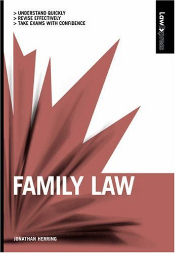 9781405847155: Law Express: Family Law
