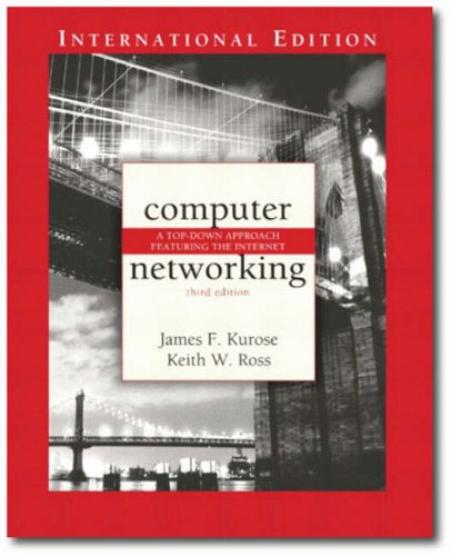 9781405847179: Computer Networking: A Top-down Approach Featuring the Internet