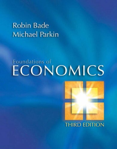 9781405847445: Foundations of Economics