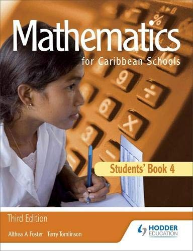 9781405847797: Maths for Caribbean Schools: New Edition 4