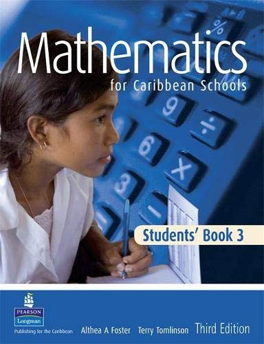 9781405847810: Maths for Caribbean Schools: New Edition 3