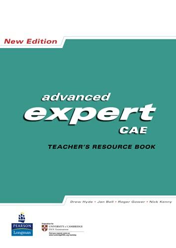 9781405848381: CAE Expert: Teachers Resource Book (Expert)