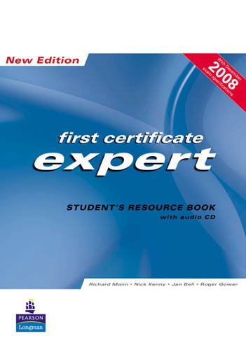 9781405848435: FCE Expert New Edition Students Resource book ( no Key ) for Pack