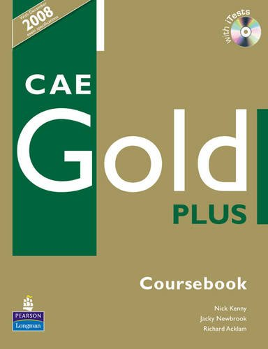9781405848640: CAE Gold Plus Course book for Pack