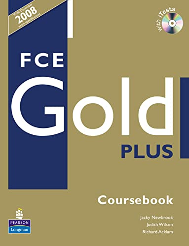 9781405848725: FCE Gold Plus Coursebook Book for Pack