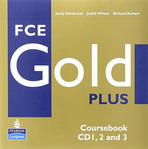 9781405848732: Fce Gold Plus Cbk Class CD 1-3 (Gold)