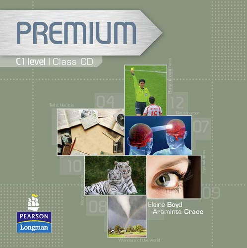 9781405849036: Premium C1 Level Coursebook Class CDs 1-2: Class CDs 1-3