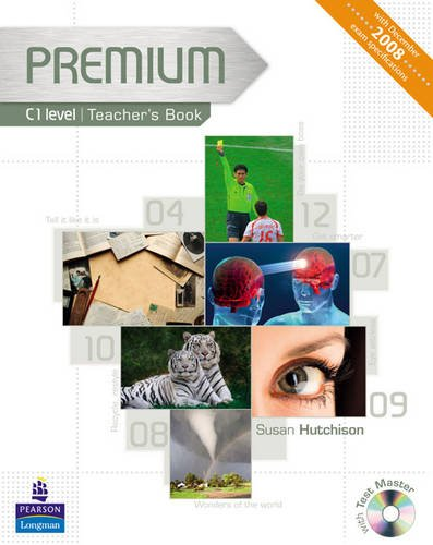9781405849135: Premium C1 Level Teachers Book for Pack