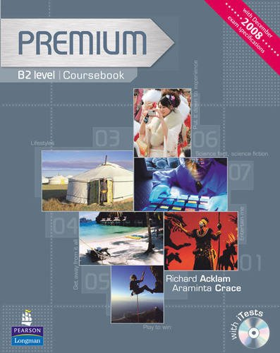 9781405849173: Premium B2 Level Coursebook and Exam Reviser for Pack