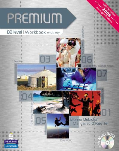 9781405849241: Premium B2 Level Workbook with Key for Pack