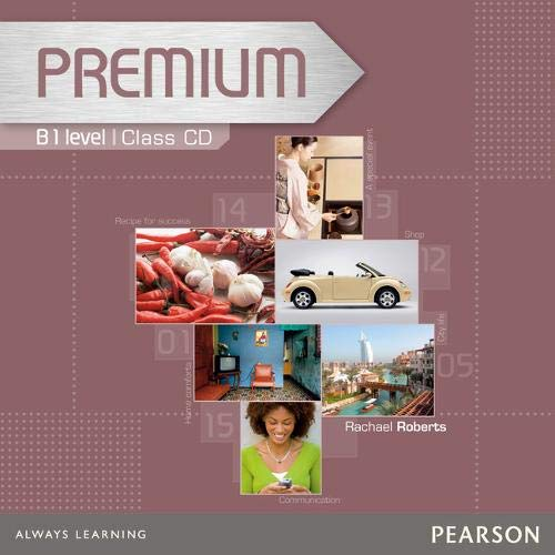 9781405849289: Premium B1 Level Coursebook Class CDs 1-2
