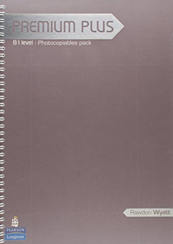 9781405849326: Premium Plus: B1 Level, Photocopiables Pack