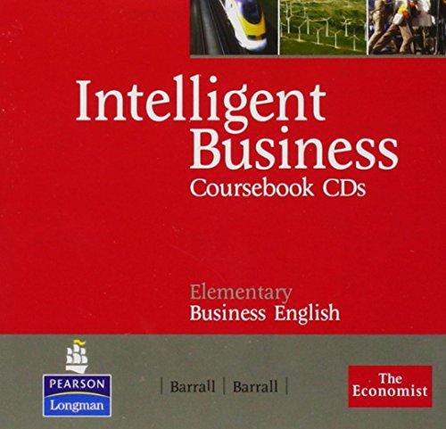 9781405849760: Intelligent Business Elementary Coursebook Audio CD's