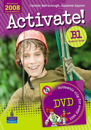 9781405851039: Activate! B1 Students' Book for pack