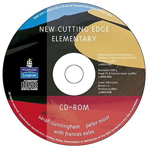 New Cutting Edge Elementary CD-ROM for Pack: Frances Eales, Peter