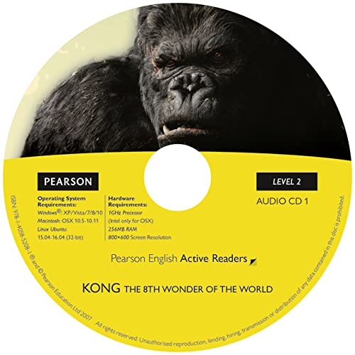 9781405852081: Level 2: Kong the Eighth Wonder of the World Book & CD Pack (Penguin Readers, Level 2)