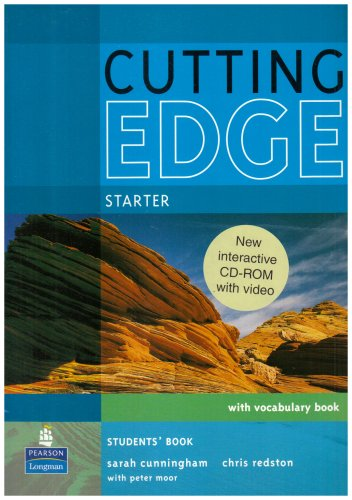 9781405852265: New Cutting Edge. Starter. Students' Book (+ CD)