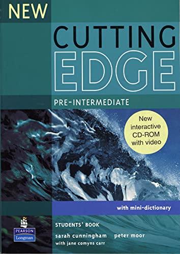 9781405852289: Cutting Edge Pre intermediate Students Pack Cutting Edge