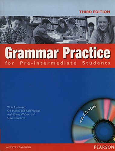 9781405852975: Grammar Practice for Pre-Intermediate: Student Book No Key Pack (Grammar Practice)