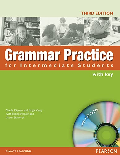 9781405852982: Grammar Practice for Intermediate Students. Student's Book with Key (+ CD-ROM)