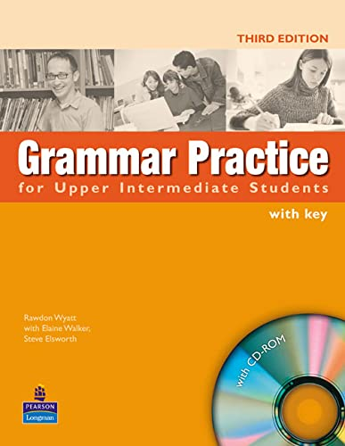 9781405853002: Grammar Practice for Upper-Intermediate Student Book with Key Pack