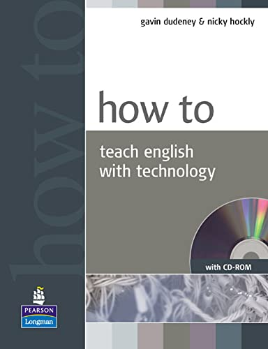 9781405853088: How to teach English with Technology Book and CD-ROM