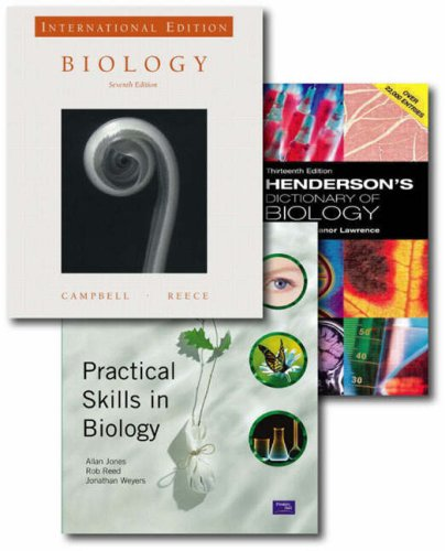 9781405853781: Valuepack:Biology/Henderson's Dictionary of Biology/Practical Skills in Biology.: WITH Practical Skills in Biology AND Henderson's Dictionary of Biology