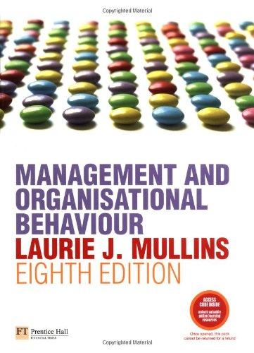 9781405854764: Management & Organisational Behaviour