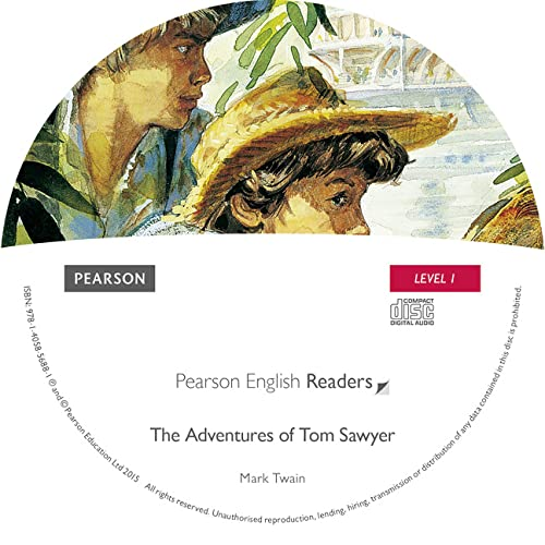 9781405856881: Level 1: The Adventures of Tom Sawyer CD for Pack (Pearson English Graded Readers)