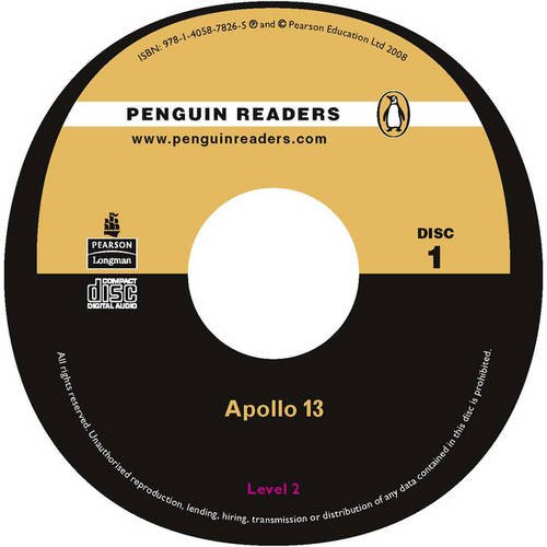 PLPR2:Apollo 13 CD for Pack (Penguin Readers (Graded Readers)) (1405857153) by Dina Anastasio