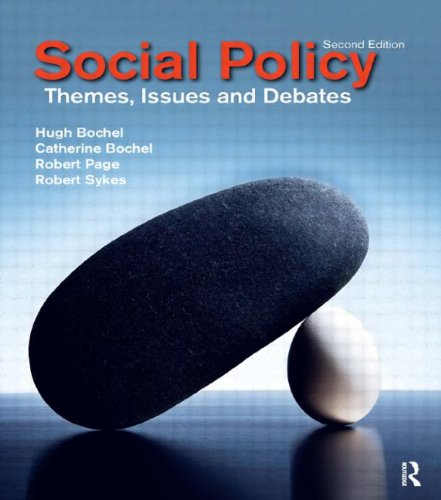 9781405858366: Social Policy: Themes, Issues and Debates